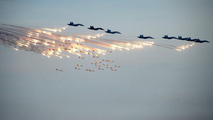 Число боевых вылетов самолётов ВКС РФ с авиабазы Хмеймим увеличилось вдвое