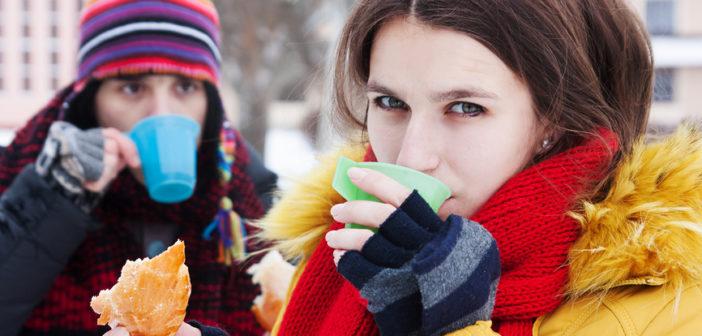 Напитки для зимней прогулки: не дай себе замерзнуть!