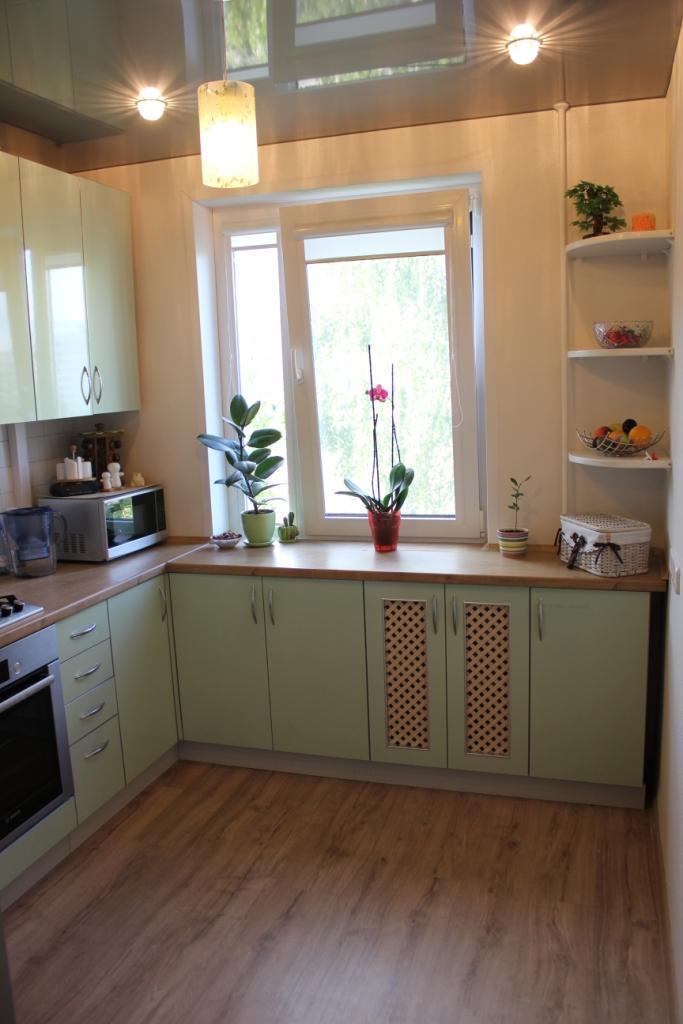 Кухня семь метров: вместить все!