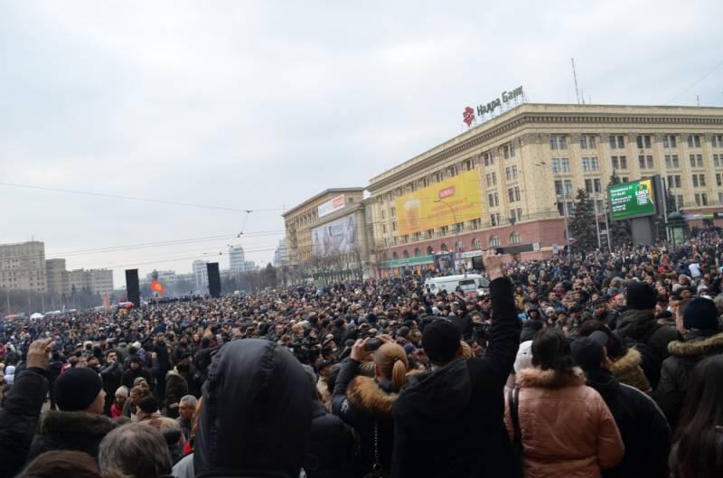 «Русская весна» на Украине в 2014 г. Часть 1. Харьковский съезд и начало сопротивления