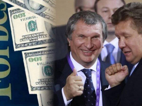 Российские олигархи против Путина