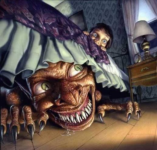 Любите ли вы страшные сказки на ночь?