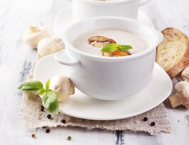 Рецепты вкуснейшего грибного крем-супа: 4 варианта с шампиньонами