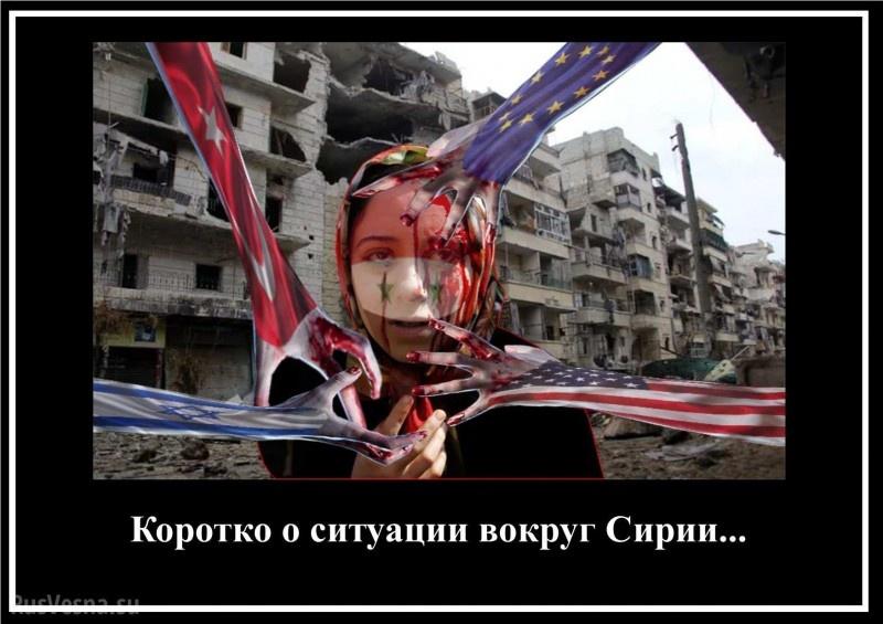 Кто точит зубы на Сирию? И чему противостоит Россия?