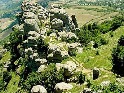Долина Приведений - долина на горе Демерджи (Крым)
