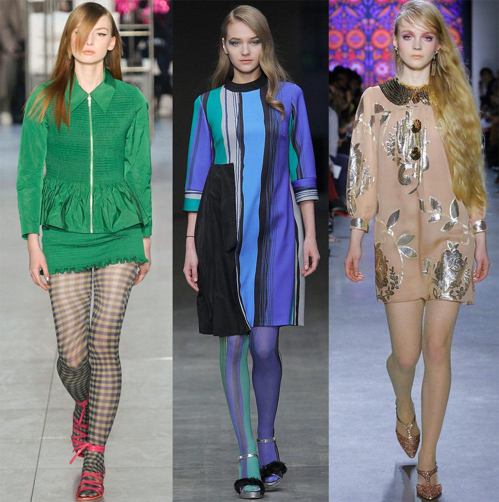 Модные женские колготки 2018-2019