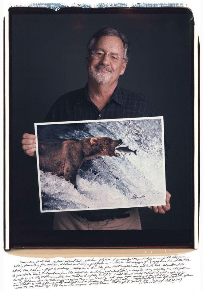 Томас Д Мэнгельсен Thomas Mangelsen Бурый медведь 1988 год