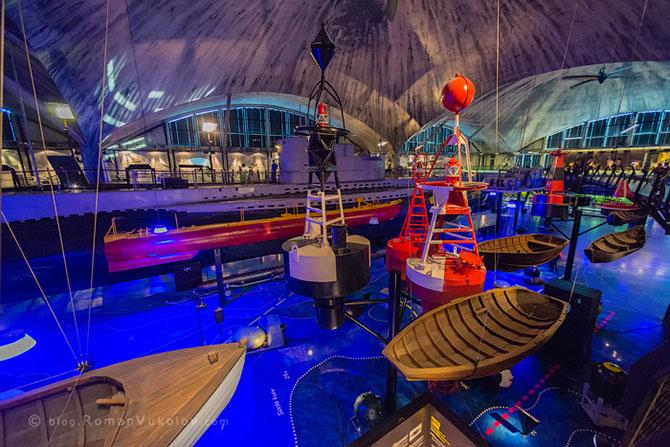 Экскурсия в морской музей Эстонии