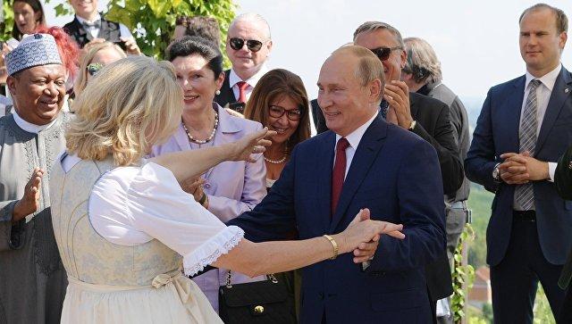 США тут не рады: реакция австрийцев на визит Путина