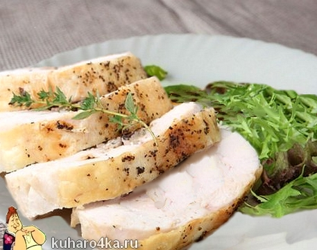 """Куриная грудка в """"термосе"""". По этому рецепту мясо получается всегда!"""