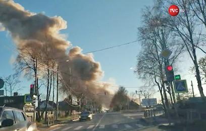 На заводе пиротехники в Гатчине произошел взрыв