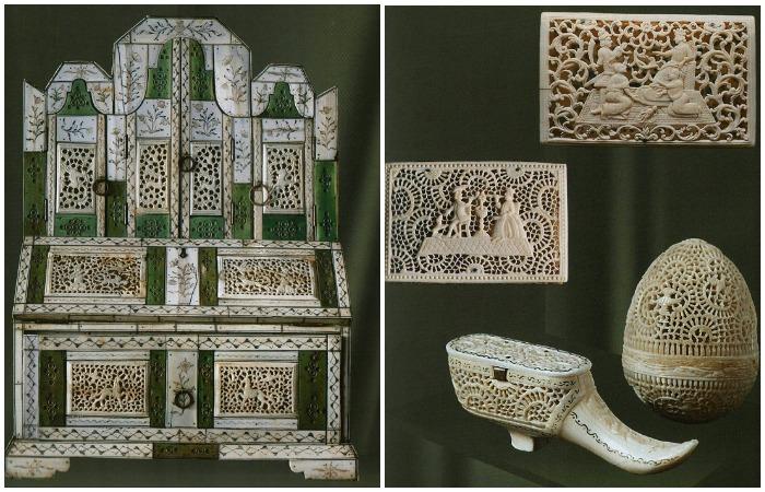 Русское костяное кружево: Как создавали свои шедевры холмогорские мастера