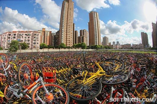 Велосипедные кладбища Китая