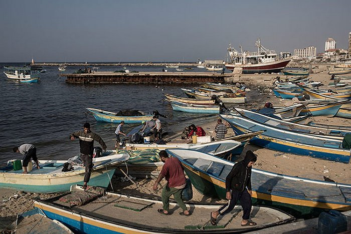 Смертельно опасная рыбалка на побережье Сектора Газа