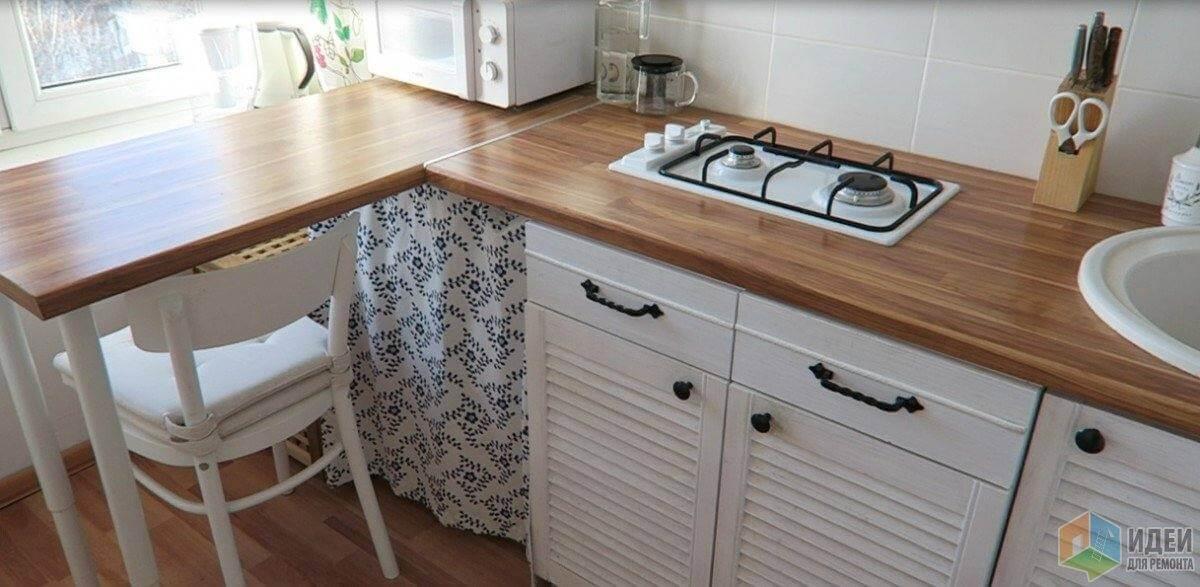 Преображение кухни за копейки. Как вам идея?