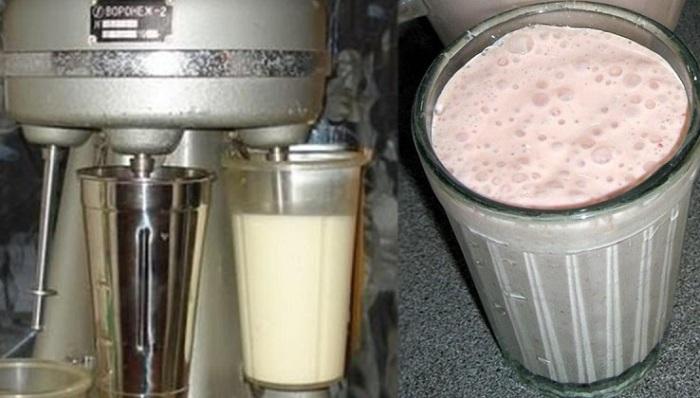 Как приготовить молочный кок…