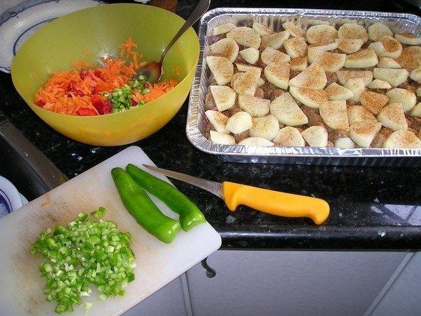«Мясо запеченное с консервированными грибами»: готовила на день рождения, скажу вам честно — достойное блюдо