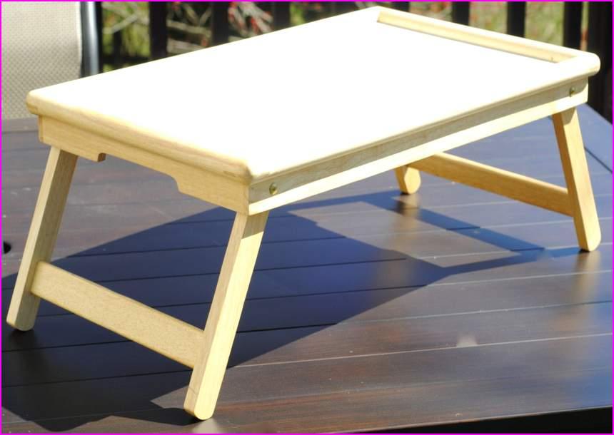 Как своими руками сделать столик на кровать