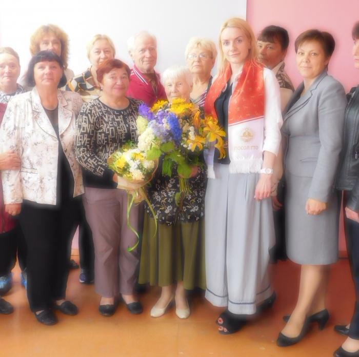 В Новгородской области золотой значок ГТО получила 86-летняя пенсионерка