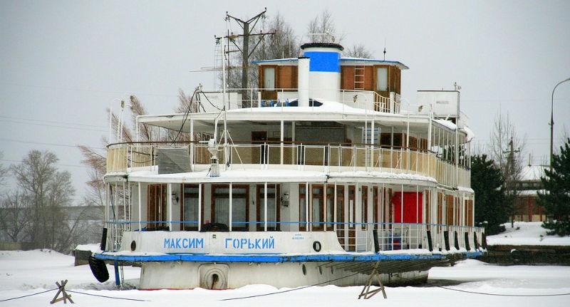 Теплоход, известный как «яхта Сталина», могут продать за 20 миллионов рублей