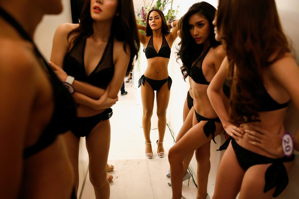 Тайландский конкурс красоты, который слегка шокирует