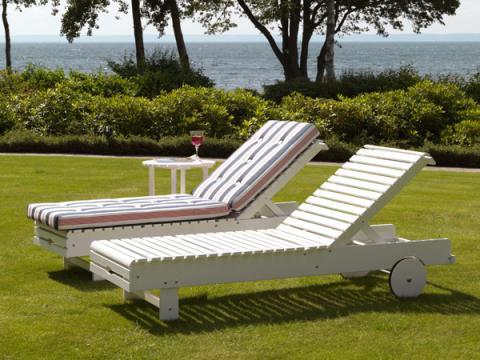 Пляжный лежак  сделать