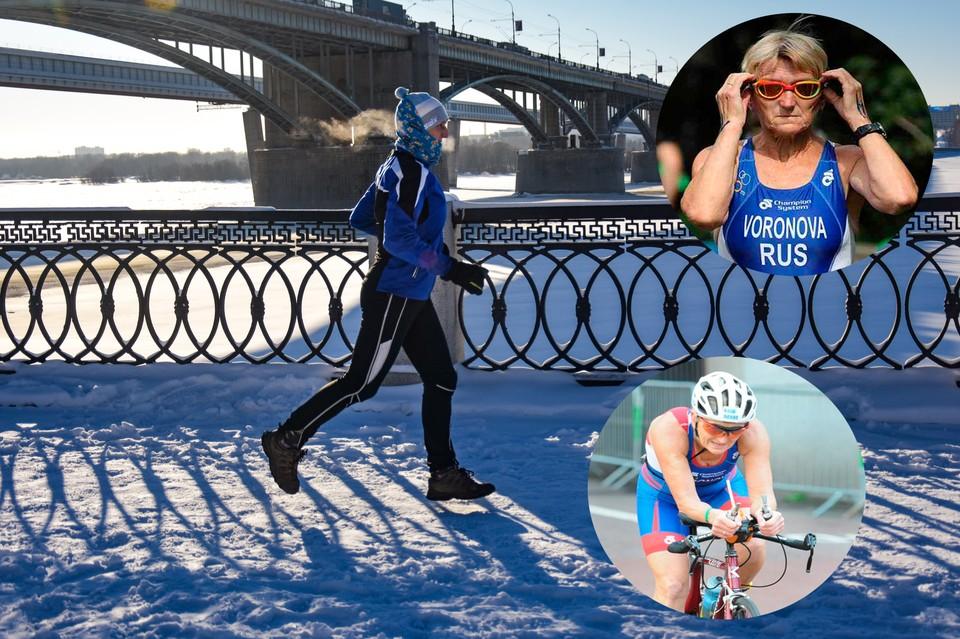 Людмила Воронова — самая титулованная возрастная триатлетка России.