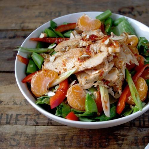 6 идей для вкусных салатиков, богатых белком.
