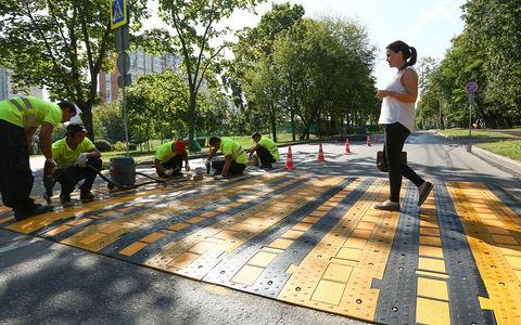 Резиновый пешеходный переход - ноухау дорожников