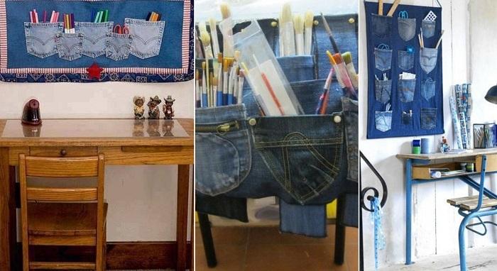 переделка джинсов для детей