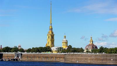 Самый большой в мире атомный ледокол спущен на воду в Петербурге