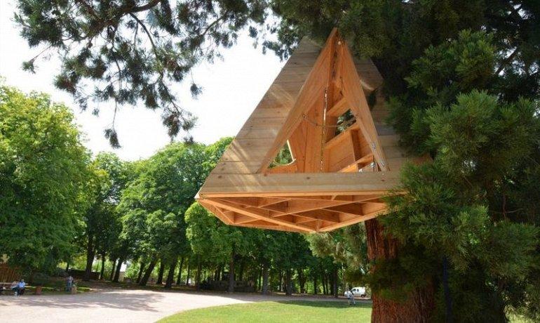 Подвесной дом на дереве Sequoia Shelter