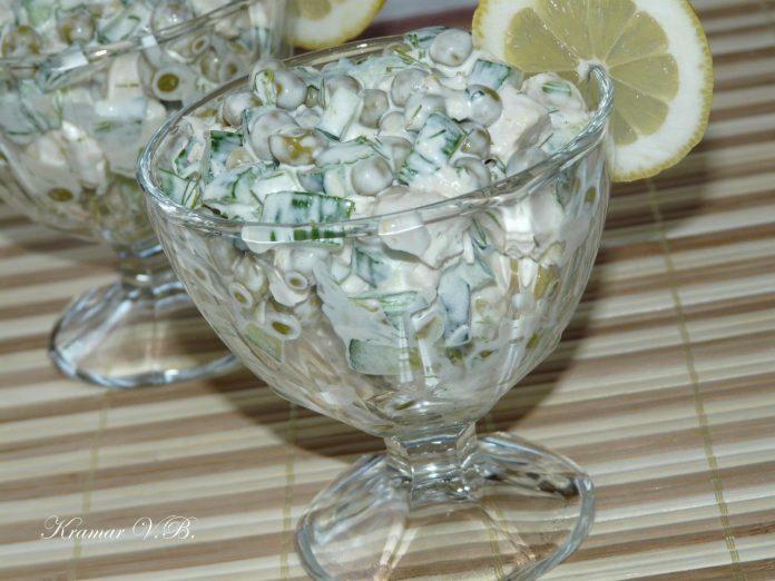 Легкий салат всего из нескольких ингредиентов — салат «Леди»