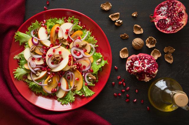 Зимний витаминный фруктовый салат