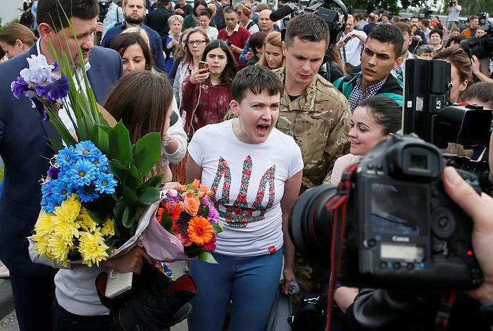 Обмен Савченко поможет минск…