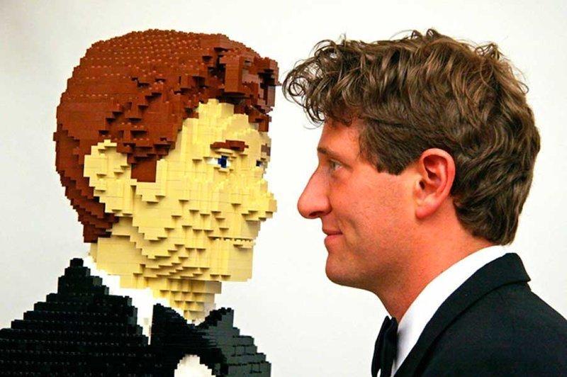 2. Искусство Lego ПРИНТЕР БРАЙЛЯ, конструктор lego, непрямое назначение, факты