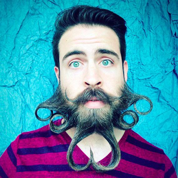коллаж из фото для телефонов прически усы борода