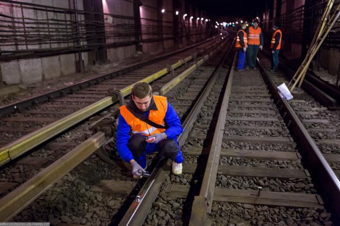 Случай на работе в метро