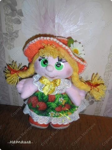 Игрушка, Куклы Шитьё: Куклята Пряжа, Пуговицы, Ткань. Фото 12