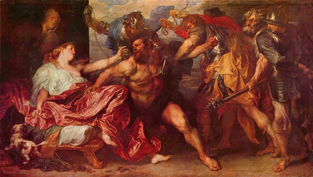 Далила и Самсон: коварство и любовь