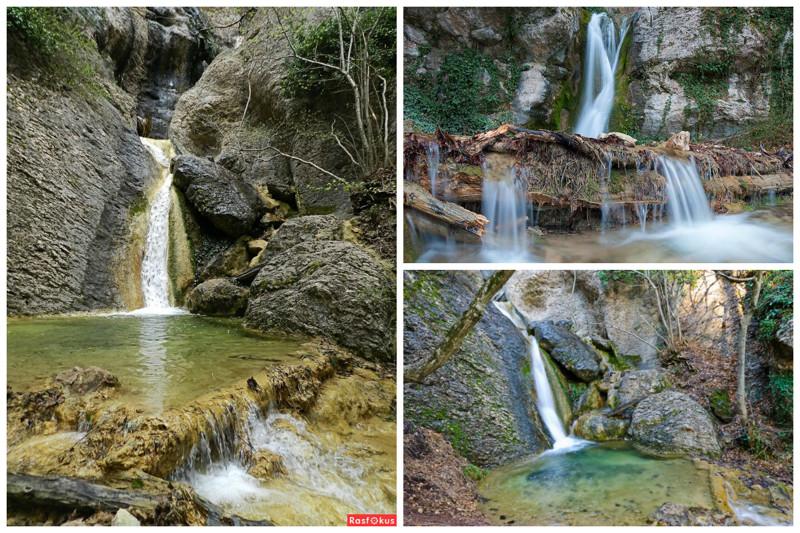 Водопад с романтическим названием Купель Дианы, расположен в ущелье Темиар интересное, красота, факты, ялта