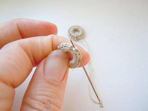 Кольца для обвязки крючком своими руками 25