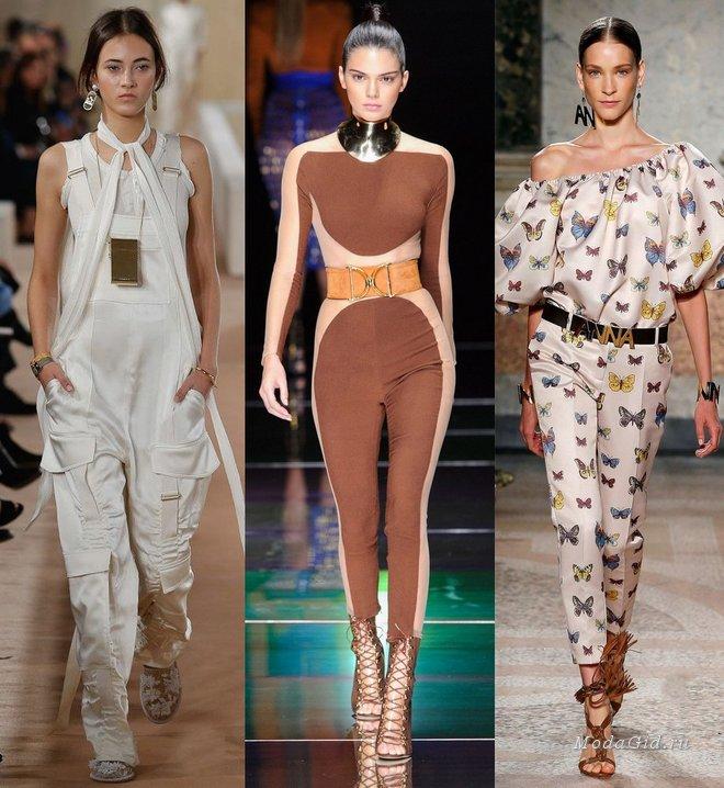 Модные комбинезоны весна-лето 2016