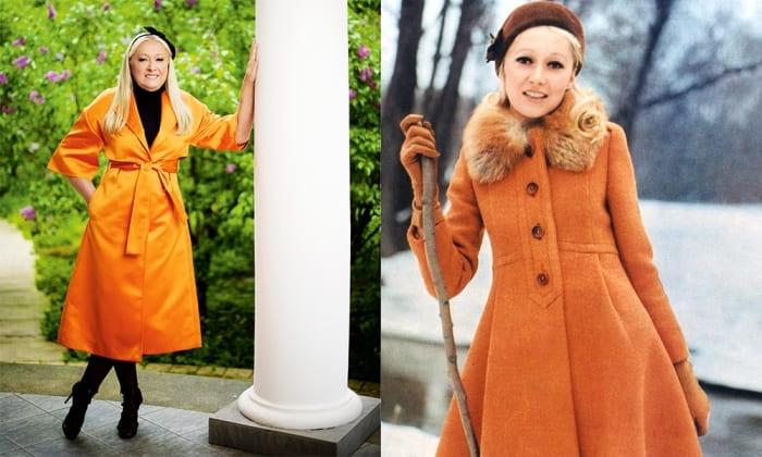 Татьяна Михалкова (Соловьева) в 1970-е гг. и в 2016 г. | Фото: ru.hellomagazine.com