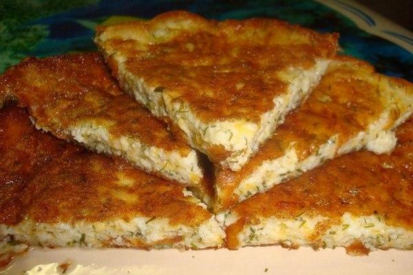 Ленивые» сырные хачапури