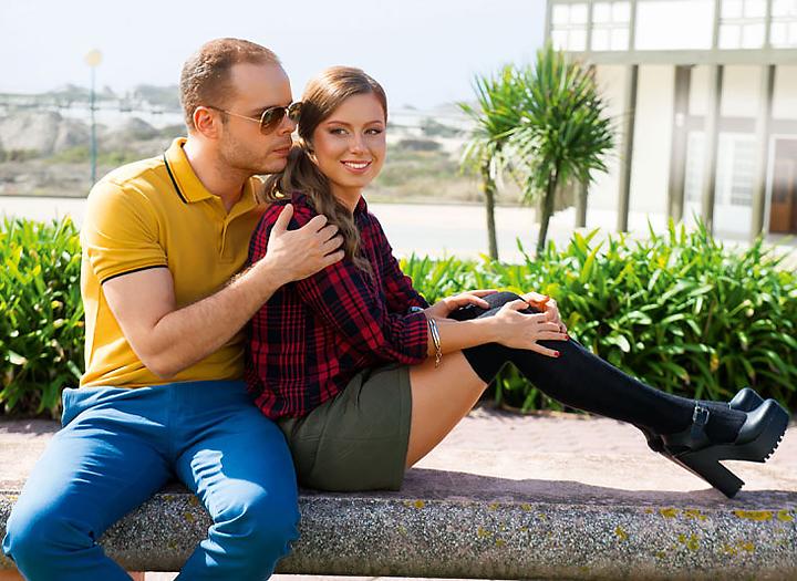 Александр Аршинов и Юлия Савичева недавно поженились