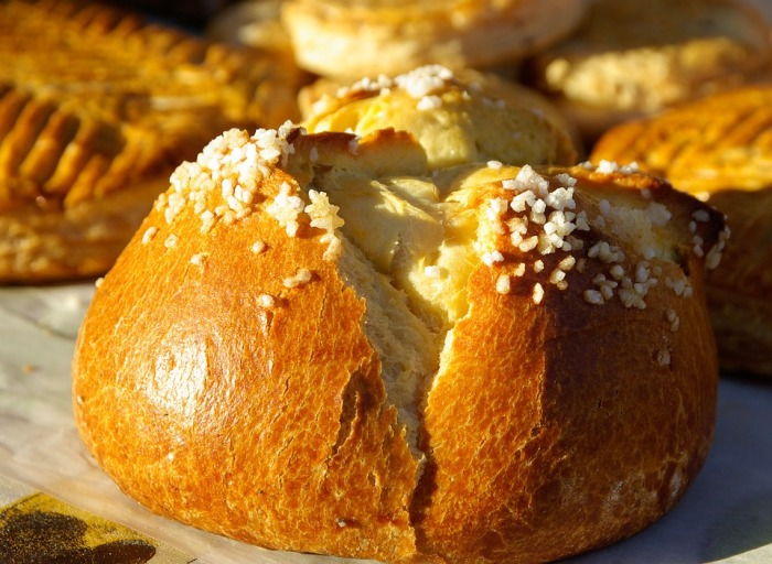 Восхитительные булочки бриоши.  Фото: newslab.ru.