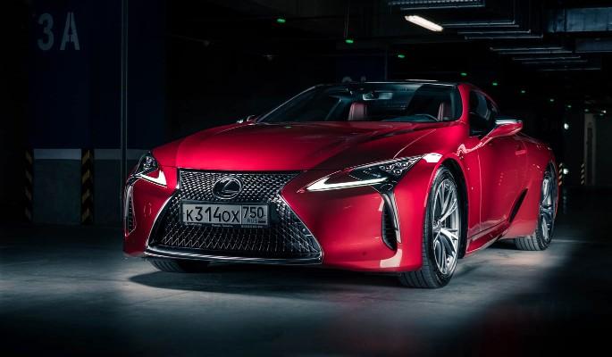 Lexus LC 500: Красота и скорость