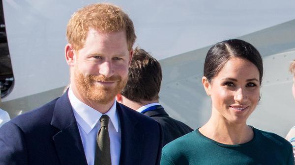 Меган Маркл и принц Гарри ус…