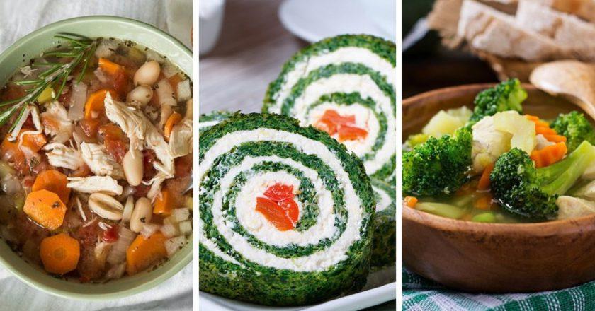 7 рецептов весенних блюд